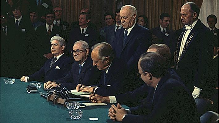 The Paris Peace Accords End Direct Combat Role of United States in the Vietnam War