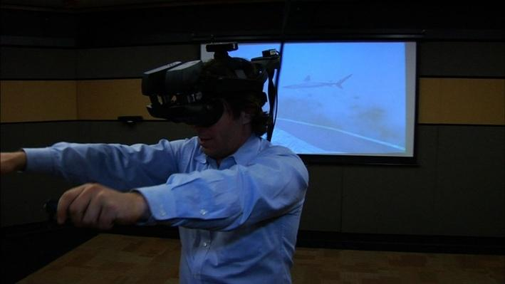 Tricking the Brain with Transformative Virtual Reality ERG