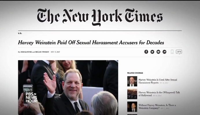 Harvey Weinstein, Sexual Harassment, and the Civil Rights Act of 1964 | PBS NewsHour