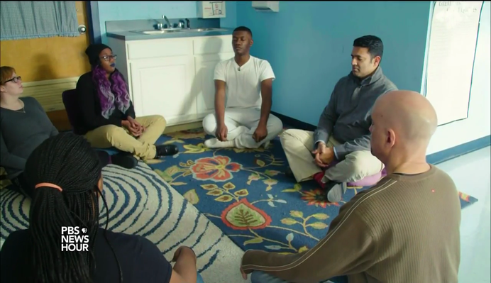 Baltimore Program Hopes to Overcome Violence with Mindfulness | PBS NewsHour