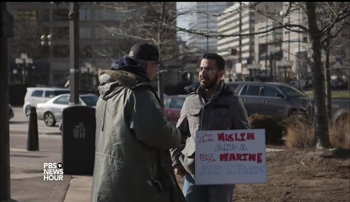 An American Muslim Marine | PBS NewsHour