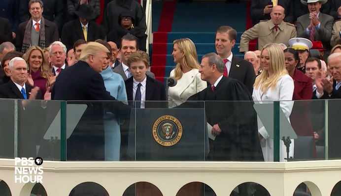 Donald Trump Sworn in as 45th President | PBS NewsHour