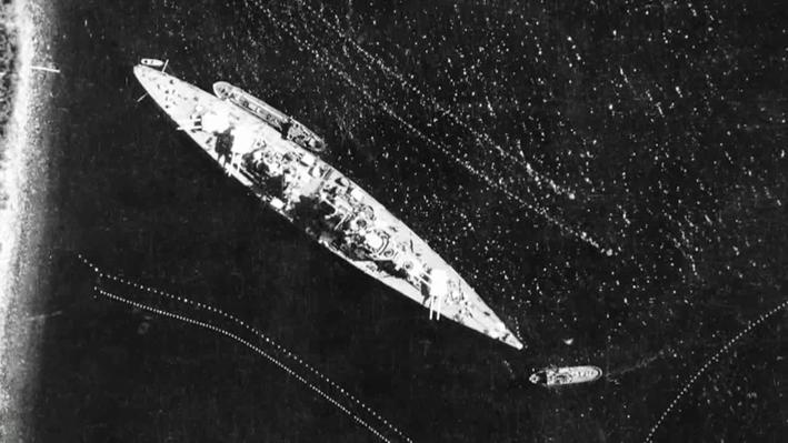 The Tirpitz Goes into Hiding | Nazi Mega Weapons: Hitler's Megaships
