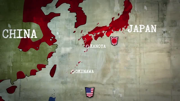 The American Advancement towards Japan | Nazi Mega Weapons: Axis Weapon - The Kamikaze