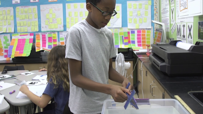 Engineering in the Middle School Classroom: Context and Testing