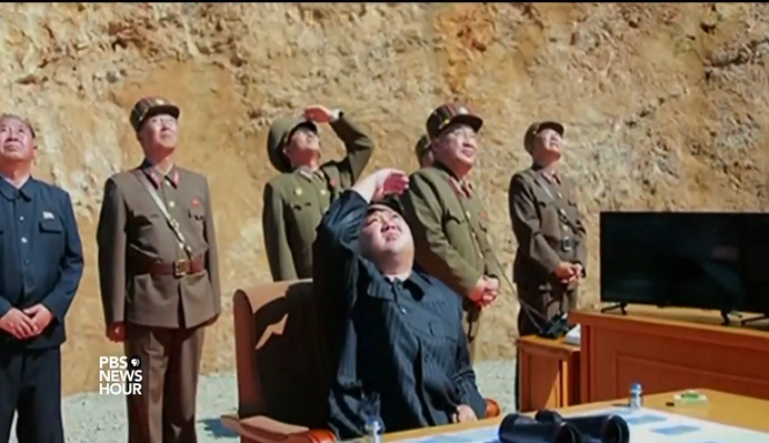 North Korea Test-Fires Missile | PBS NewsHour