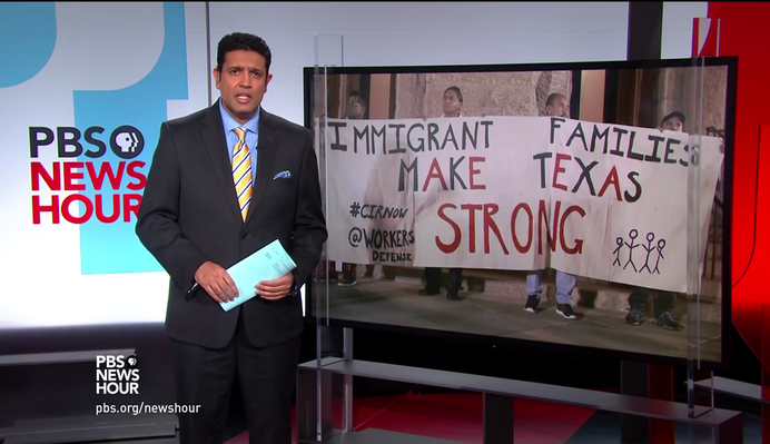 Texas Sheriff Shares Concerns over Federal Immigration Laws | PBS NewsHour