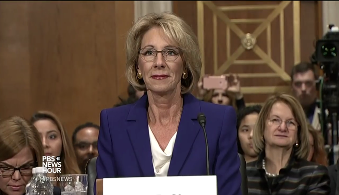 Education Nominee Betsy DeVos Faces Questions on School Choice | PBS NewsHour
