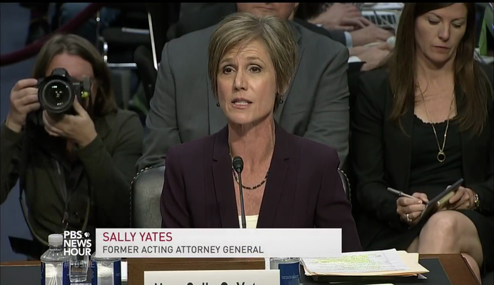 Yates Testifies She Warned White House about Gen. Flynn | PBS NewsHour