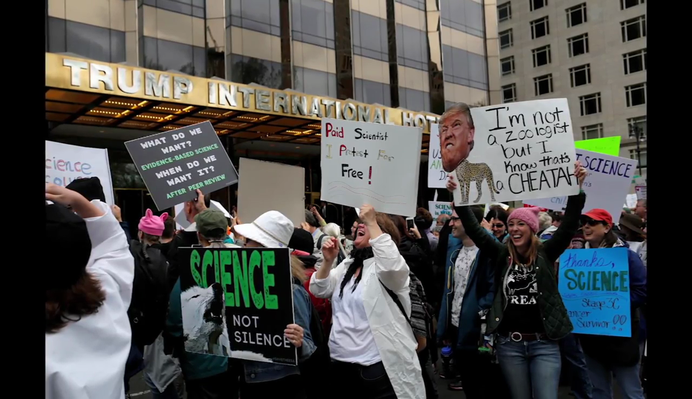 Science Marches Call for More Facts and Funding | PBS NewsHour