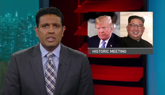 North Korea's Kim Jong Un and Donald Trump Meet Face-to-Face   PBS NewsHour