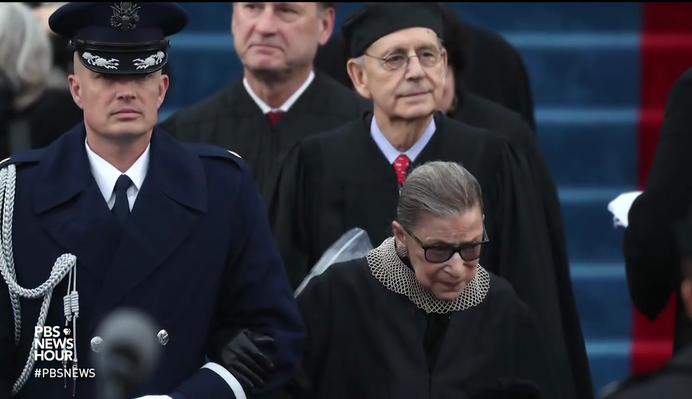 Ruth Bader Ginsburg's Continuing Fight for Equality | PBS NewsHour