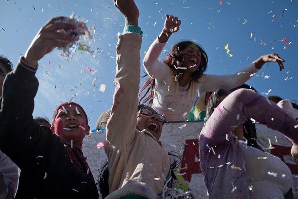 Holi Celebration | Global Oneness Project