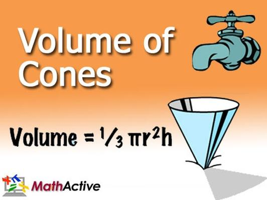 Volume of Cones | Spanish Voice