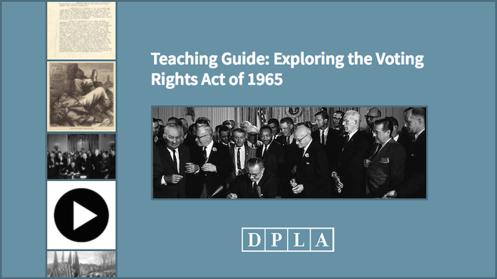 Teaching Guide: Exploring the Voting Rights Act of 1965