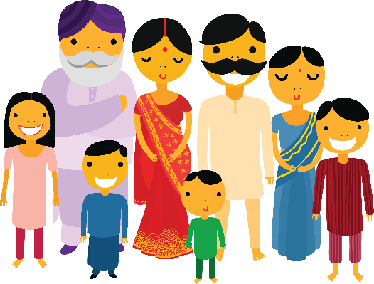Big Family | Clipart | PBS LearningMedia