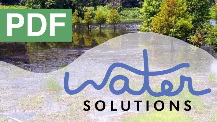 Water Solutions: Bernheim Forest Graphic Handouts