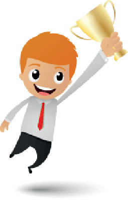 Businessman Victory | Clipart