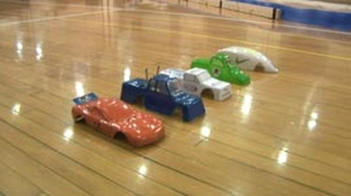 Plastic Race Car Competition
