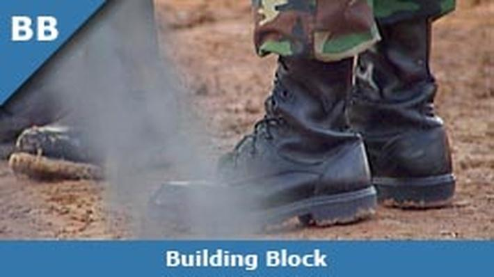 Army Boots and Razorwire