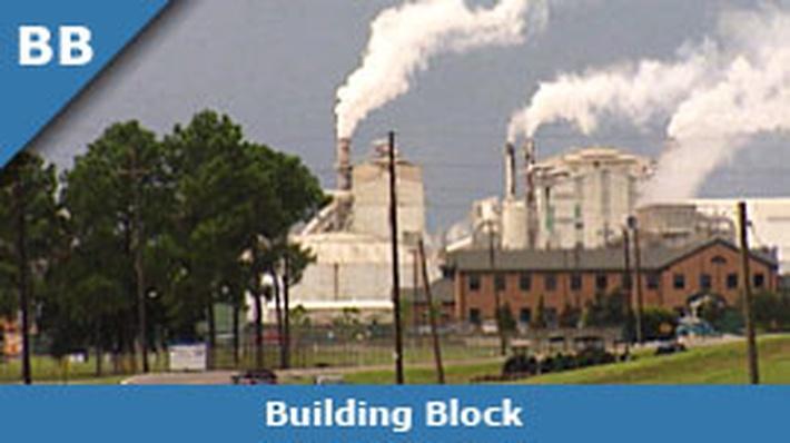 Chemical Plants with Smokestacks