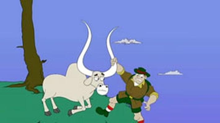 Cliff Hanger and the Sneezing Zebu