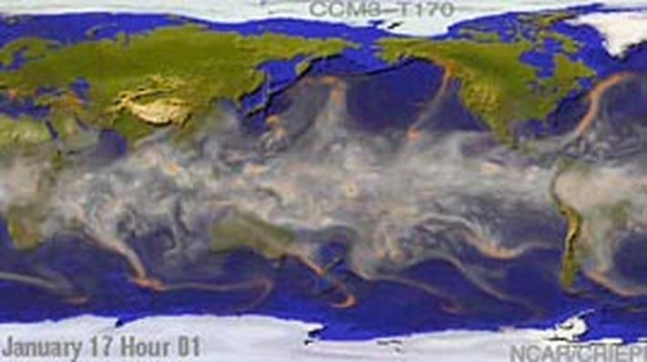 Water Vapor Circulation on Earth