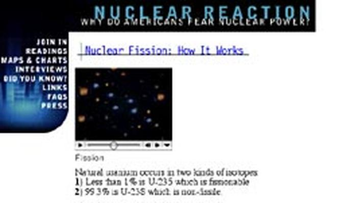 Fission and Reprocessing: How They Work