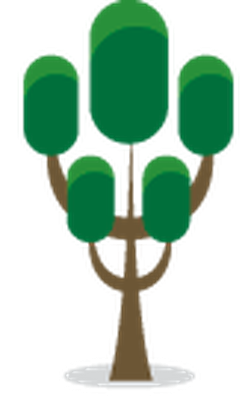 Stylized Trees - 11 | Clipart
