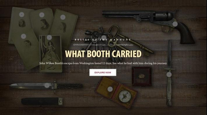 What Booth Carried | Ford's Theatre