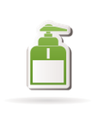 Bathroom and Toilet Objects - Hand Soap Dispenser | Clipart