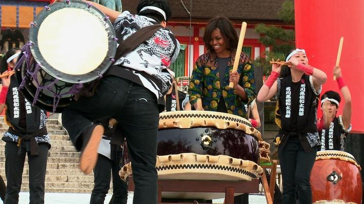 On Board: Travels with the First Lady in Kyoto, Japan