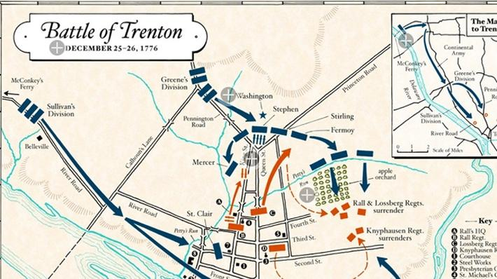 Interactive Map of the Battle of Trenton
