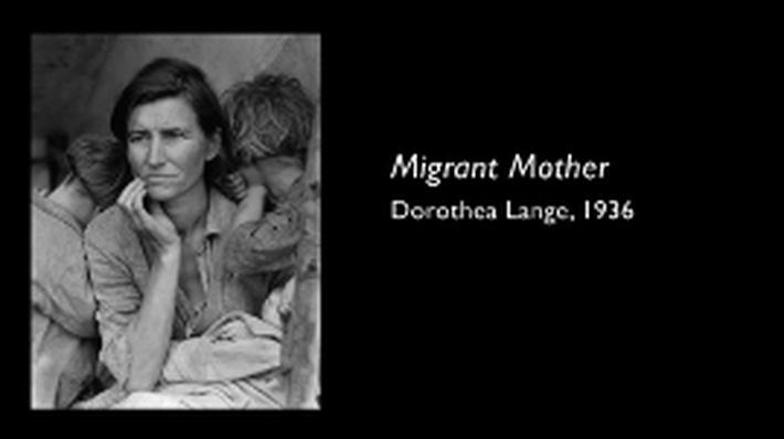 Picturing America: Dorothea Lange - Migrant Mother