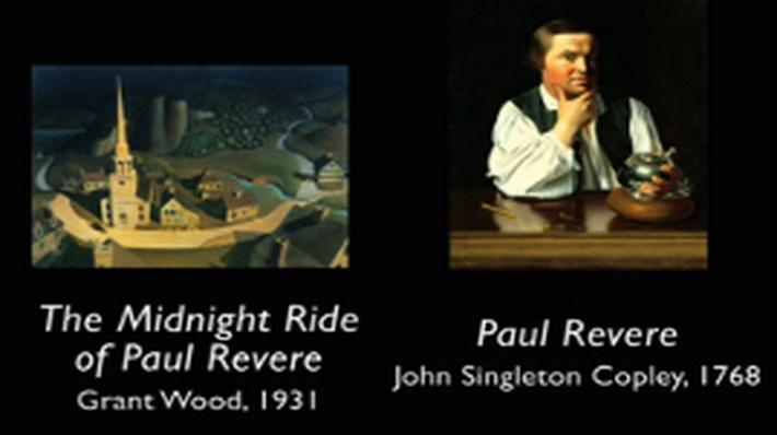 Picturing America - Paul Revere