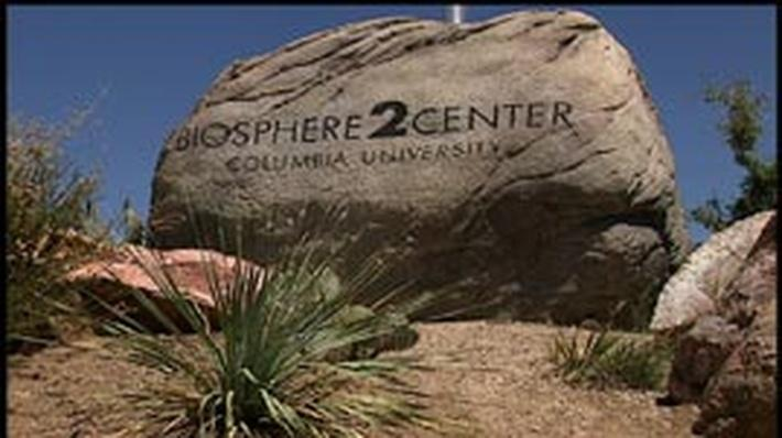 Studying Global Warming in Biosphere 2