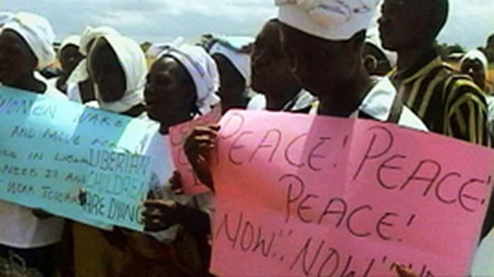 Peaceful Protests in Liberia