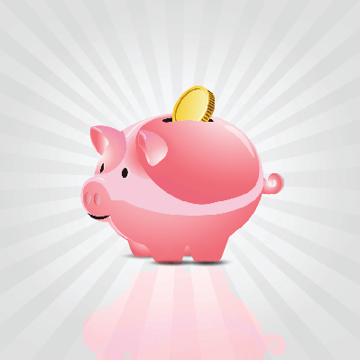 Savings Piggy Bank - Illustration | Clipart
