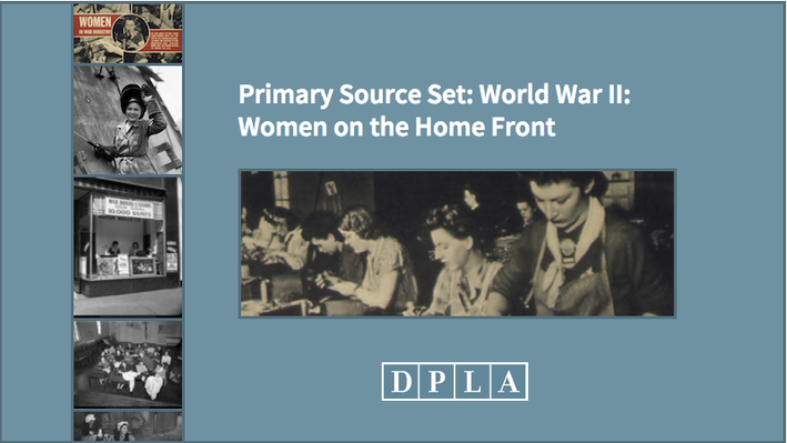 Teaching Guide: Exploring Women on the Home Front During World War II