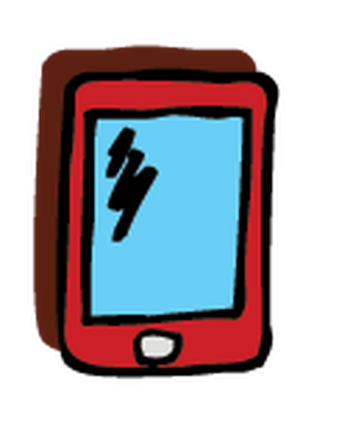 Electronics - Cell Phone 3 | Clipart
