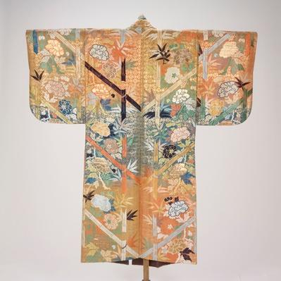 Noh theater costume (karaori), 18th Century / RISD STEAM
