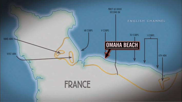Landing at Omaha Beach: D-Day | World War II Stories