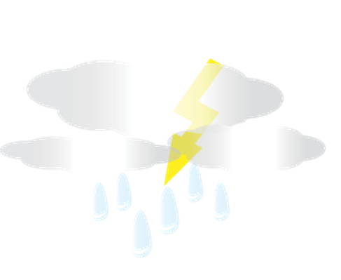 Weather - Thunder Clouds | Clipart
