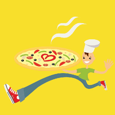Pizza Man | Clipart