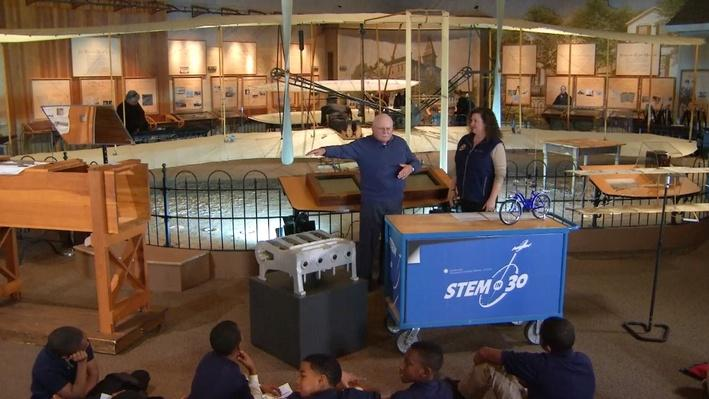 Kites to Flight: Inventing with the Wright Brothers Webcast   STEM in 30