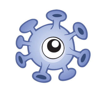 Germs Theme Set 1 | Clipart