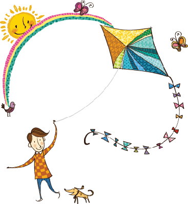 The View of Kite | Clipart