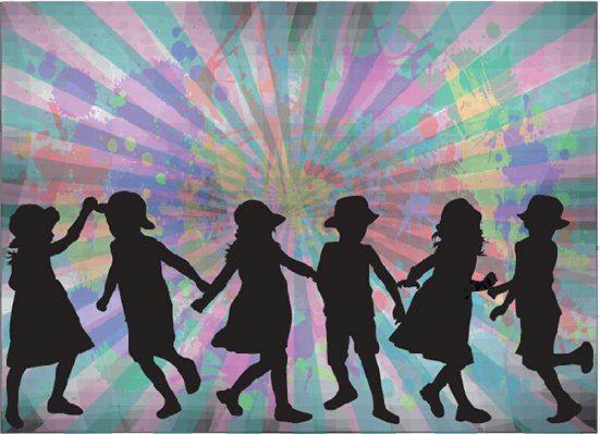 Children Silhouette | Clipart