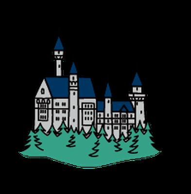 Landmarks - Neuschwanstein Castle   Clipart