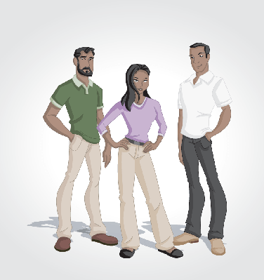 Cartoon Black People | Clipart